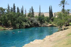 Piece of Paradise on Earth – Gan Hashlosha (Sachne),Israel